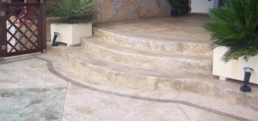 Pavimenti in resina pavimenti stampati a napoli edilcaso - Resina pavimento esterno ...